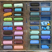 Indoors Photos - Pastels by Bernard Jaubert