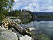 National Mixed Media Prints - Payette Lake - McCall Idaho Print by Photography Moments - Sandi