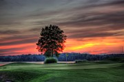 Golf Photos Prints - Peaceful Print by Reid Callaway