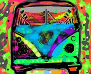 Pop Art - Peaceout by David Rogers