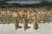 Social Movements Art - Pellizza Da Volpedo, Giuseppe by Everett