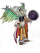 Angelic Originals - Pelusis God of Law and Order by Shawn Dall