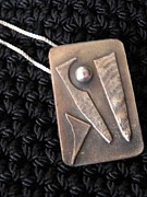 Abstract Jewelry Originals - Pendant by Patricia  Tierney