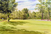 Perry Golf Course Florida Print by Bill Holkham