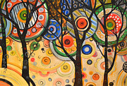 Trees Posters - Phases of the Sun Poster by Amy Giacomelli