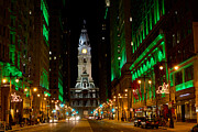 Philadelphia City Hall Framed Prints - Philadelphia City Hall Framed Print by Christopher Henne
