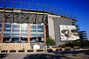 Phillies Prints Prints - Philadelphia Eagles - Lincoln Financial Field Print by Frank Romeo