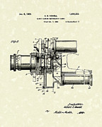 1929 Drawings - Photographic Camera 1929 Patent Art by Prior Art Design