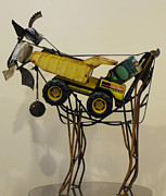 Goat Sculptures - Pierson by Malen