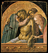 The Pieta Prints - Pieta Print by Carlo Crivelli