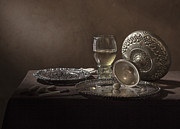 Banquet Photos - Pieter Claesz - Onbijt with Roemer and Tazza by Levin Rodriguez