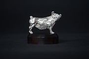 Gifts Sculpture Originals - Pig by Edward  Waites