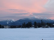 Lake Placid Ny Photos - Pink by Allison Shumway