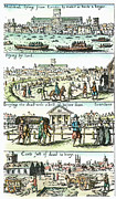 Handbill Framed Prints - Plague Of London, 1665 Framed Print by Granger