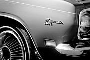 Plymouth Prints - Plymouth Barracuda 340-S Emblem Print by Jill Reger
