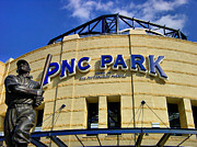 Pittsburgh Acrylic Prints - PNC Park Baseball Stadium Pittsburgh Pennsylvania Acrylic Print by Amy Cicconi