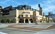 Three Rivers Stadium Prints - PNC Park - Pittsburgh Pirates Print by Frank Romeo