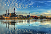 Pnc Framed Prints - PNC Park Framed Print by Rusty Glessner