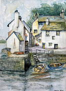 Sheila West - Polperro harbour