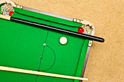Pool Balls Photos - Pool Table by Tom Gowanlock