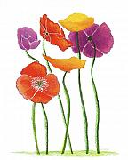 Nan Wright - Poppies A Plenty