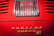 Featured Art - Porsche Super 90 Tail Emblem by Jill Reger