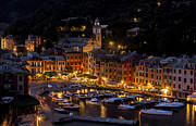 Italian Village Prints - Portofino Italy - Hi Res Print by Carl Amoth