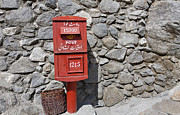 Post Box Prints - Post Box in Karimabad Print by Robert Preston