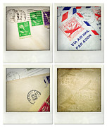 Stamp Photos - Postal still life by Les Cunliffe