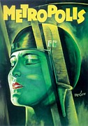 Expressionist Framed Prints - Poster from the film Metropolis 1927 Framed Print by Anonymous