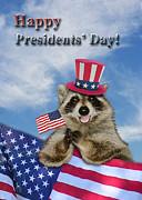 Jeanette K - Presidents Day Raccoon