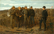 Famous Artists - Prisoners from the Front by Winslow Homer