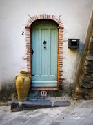 France Doors Posters - Provence Door Number 2 Poster by Lainie Wrightson