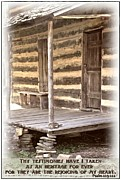 Old Home Place Framed Prints - Psalm 119 111 Framed Print by Michelle Greene Wheeler