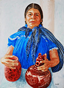 All - Purepecha Pot Vendor by Sue Sill