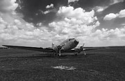 Dc-3 Plane Framed Prints - Put Out to Pasture Framed Print by Mountain Dreams