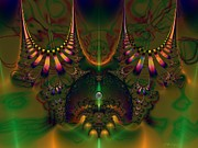 Quantum Dot Print by Peter R Nicholls