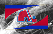 Skate Photos - Quebec Nordiques by Joe Hamilton