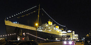 Ocean Photo Metal Prints - Queen Mary - 12122 Metal Print by DC Photographer