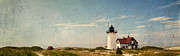 New England Scenes Posters - Race Point Light Poster by Bill  Wakeley