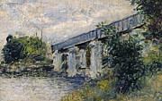 Claude Monet - Railway Bridge at Argenteuil