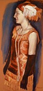 Ontario Portrait Artist Paintings - Ready to Dance by Sheila Diemert