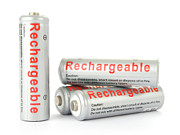 Batteries Posters - Rechargeable AA batteries Poster by Jose Elias - Sofia Pereira