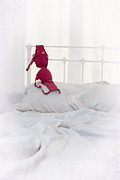 Bedroom Prints - Red Bra Print by Christopher Elwell and Amanda Haselock