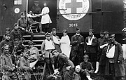1918 Art - RED CROSS, c1918 by Granger