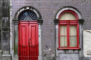 James Brunker - Red Door and Window Portugal