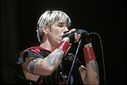 Anthony Kiedis Prints - Red Hot Chili Peppers Print by Front Row  Photographs