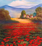 Jeanene Stein - Red Poppies