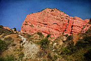 Red Rock Canyon Posters - Red Rock Canyon Poster by Joan Carroll