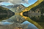 North Cascades Metal Prints - Reflections In The Cascades Metal Print by Adam Jewell